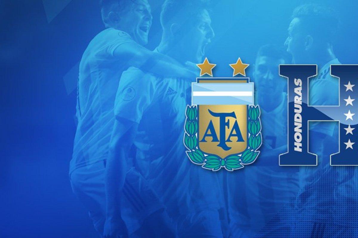Argentina enfrentará a Honduras