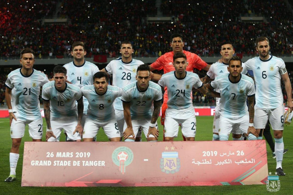 Argentina venció 1-0 a Marruecos