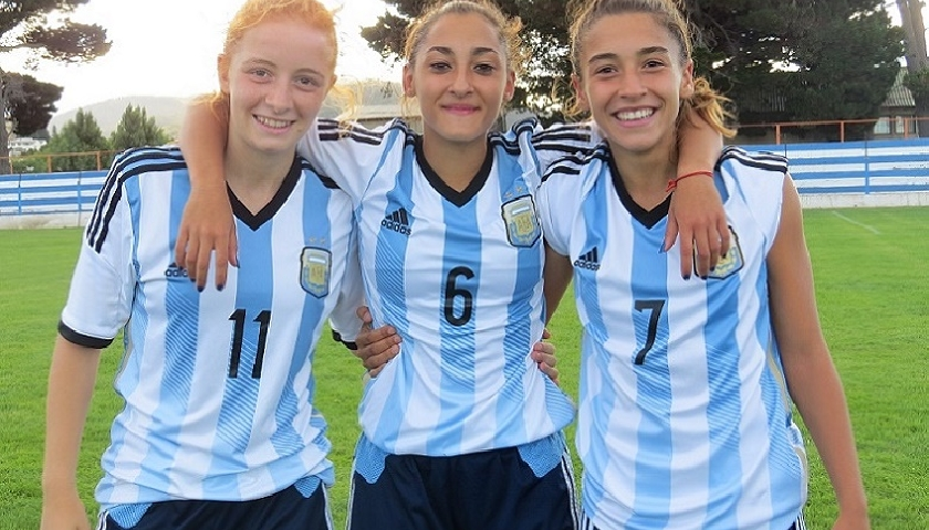 Las lincesas de la selección argentina de fútbol